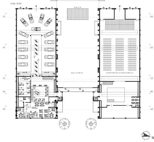 Ingrandimenti tavole del progetto for Disegni del mazzo del secondo piano